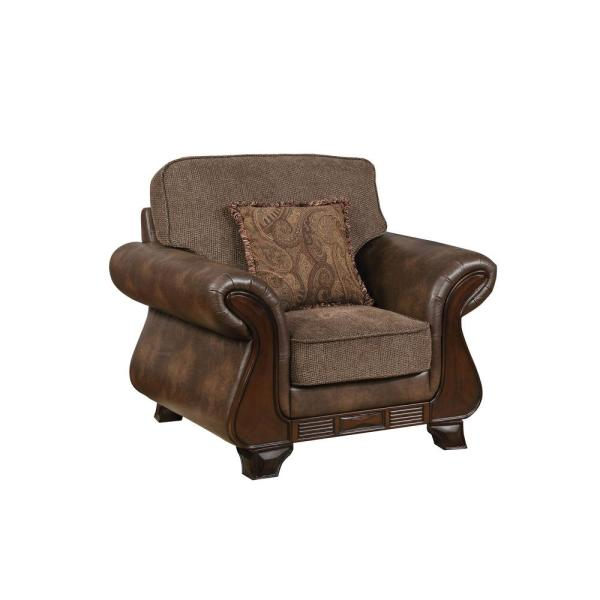 William\'s Home Furnishing Thomasina Brown Traditional Style Living ...