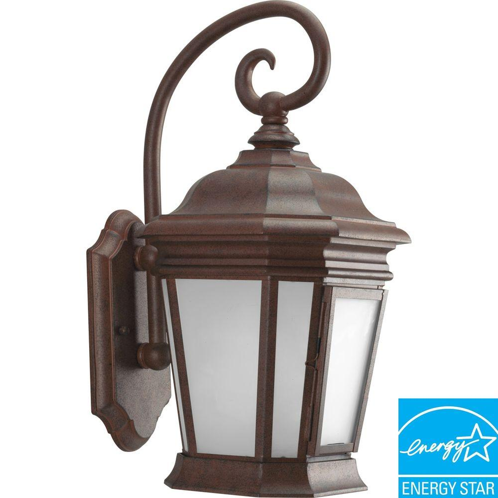 Progress Lighting Crawford Collection Cobblestone 1-light Wall Lantern-DISCONTINUED