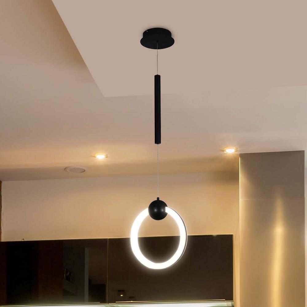 Black - Cluster - Pendant Lights - Lighting - The Home Depot