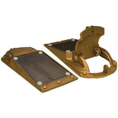 1-1/4 in. Max T-Hull APHS Series External Hull Strainer with Access Door