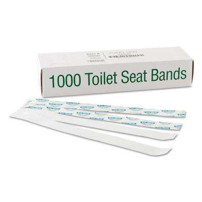 Sani/Shield Printed Toilet Seat Band (1000-Count)