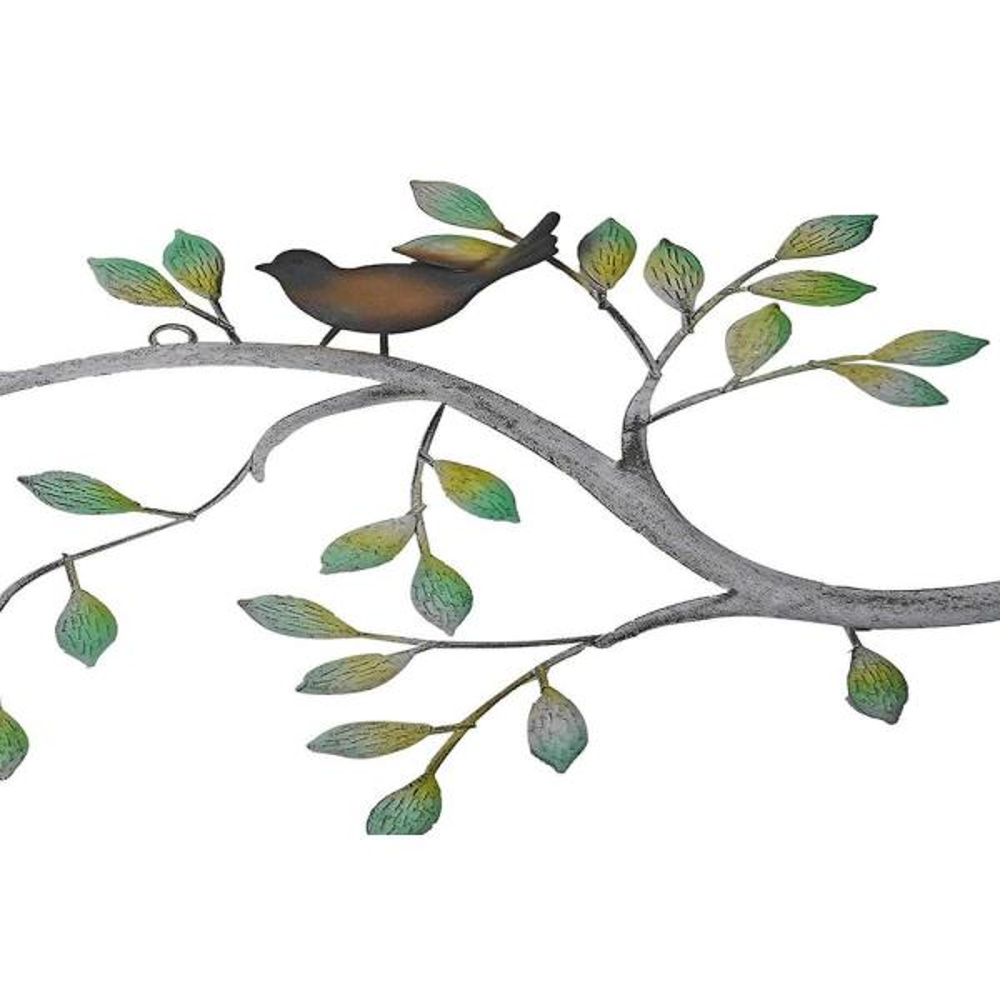 24 in Branches w//Birds Decorative Metal Wall Decor Sculpture Kitchen Home Indoor