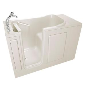 Safety Tubs Value Series 48 inch Walk-In Bathtub in Biscuit by Safety Tubs