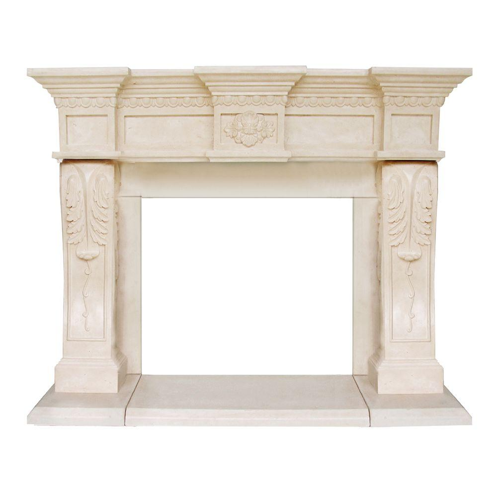 historic mantels president series oxford 52 in x 62 in cast
