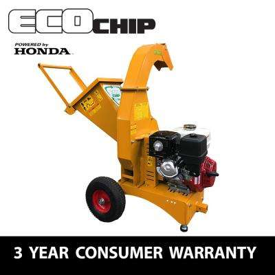 3.7 in. 389cc Gas Powered Commercial-Duty Chipper Shredder