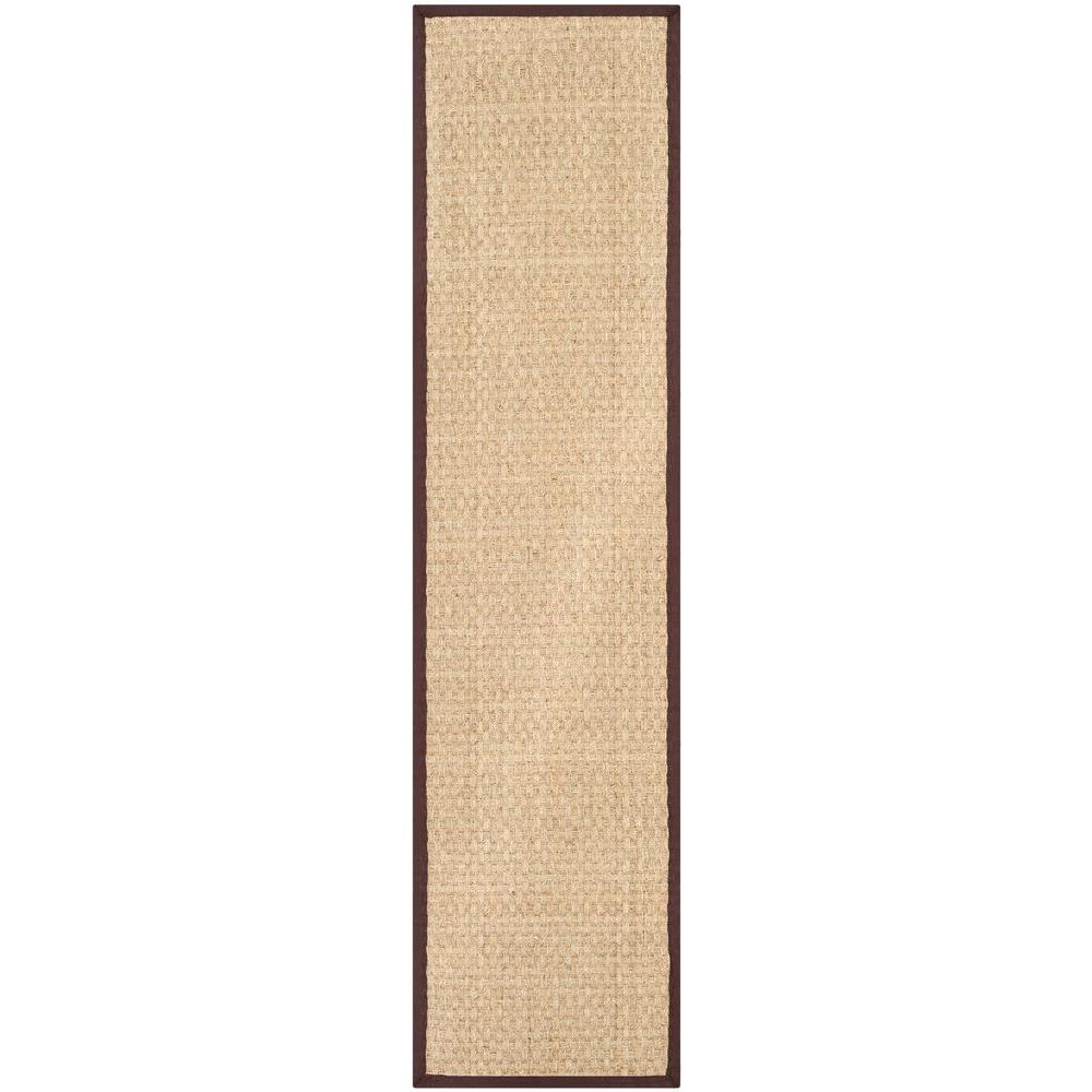 Safavieh Natural Fiber Beige/Brown 2 ft. 6 in. x 12 ft. Runner