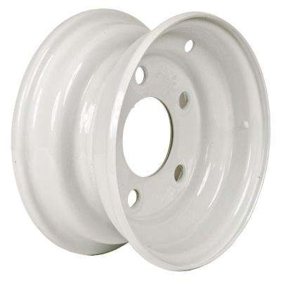 8x3.75 5-Hole 8 in. Steel Trailer Wheel/Rim