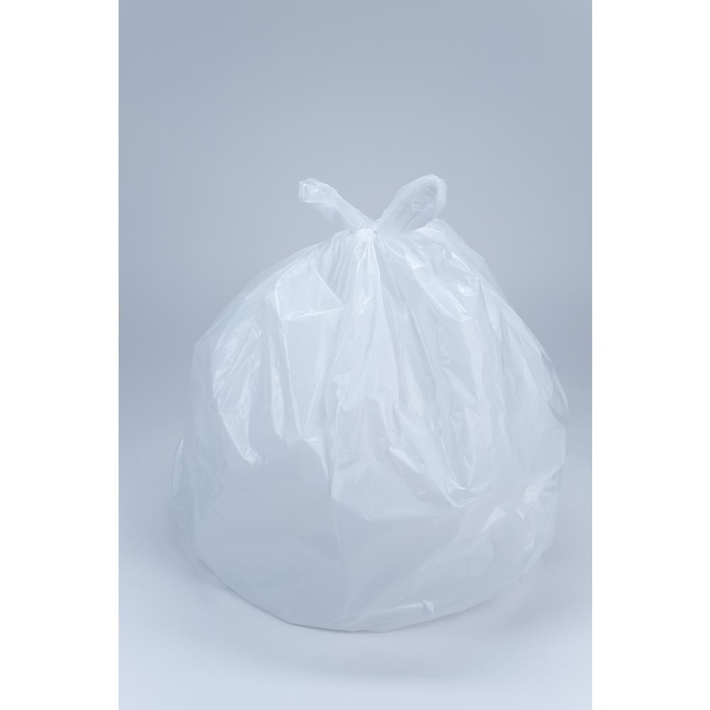 HDX HDX 8 Gal. Medium White Trash Bag (50-Count)