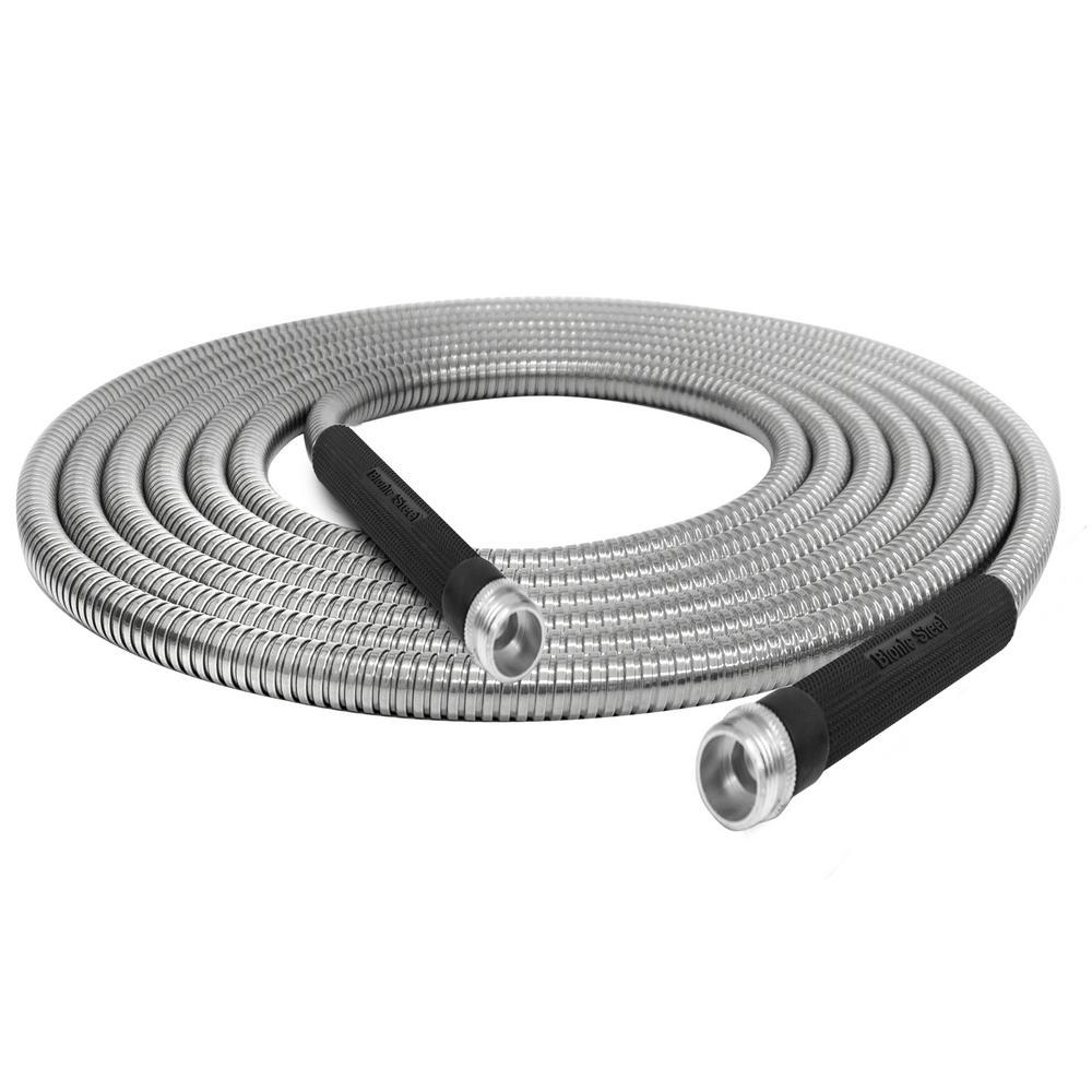 BionicSteel Bionic Steel 5/8 in. Dia x 50 ft. Heavy-Duty Stainless Steel Garden Hose
