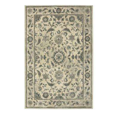 Cavatina Cream 5 ft. 3 in. x 7 ft. 10 in. Area Rug