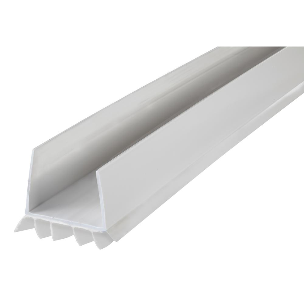 M-D Building Products DENY 2-3/8 in  x 36 in  White Under Door Seal