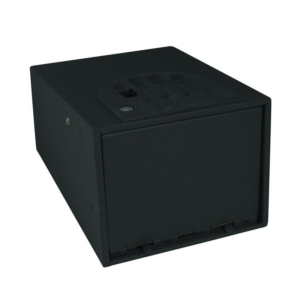 GunVault MultiVault 7.9 in. H x 14 in. D x 10.1 in. W Biometric Personal Safe