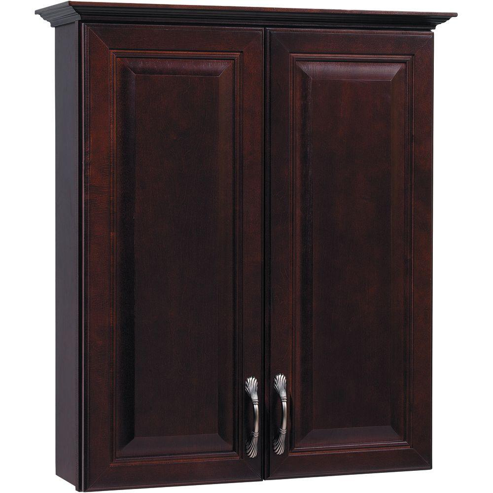 Glacier bay hampton 25 1 2 in w x 29 in h x 7 1 2 in d for American classic storage