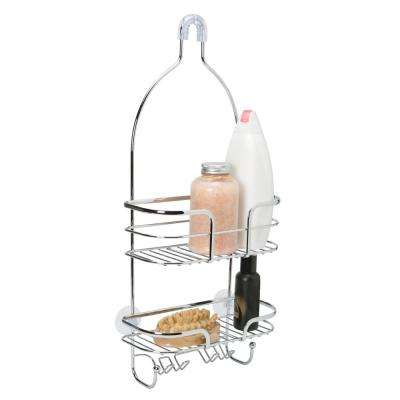 Oval Wire Shower Caddy - Holland -CHR