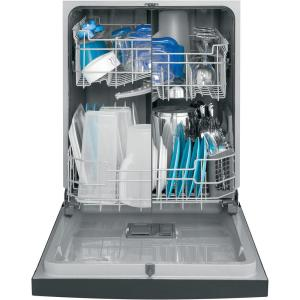 GE 24 in. Front Control Built-In Tall Tub Dishwasher in Slate with Machine Schematic Washing Ge Diagram Pdt Smjes on