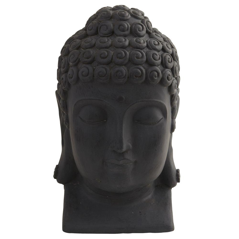 aa35876df Nearly Natural Indoor/Outdoor Buddha Head-4983 - The Home Depot