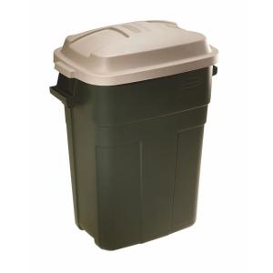 Delicieux Roughneck 30 Gal. Evergreen Trash Can