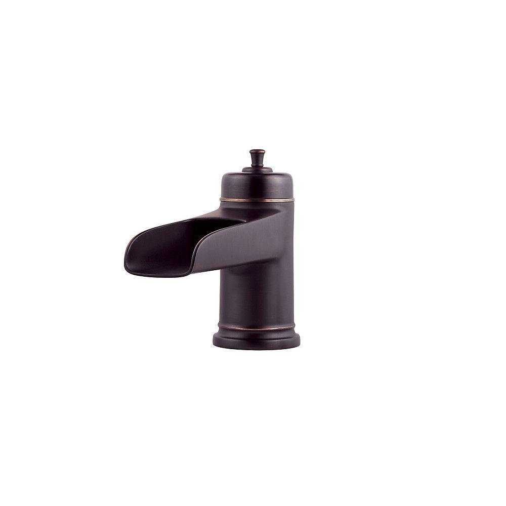 Pfister Ashfield 2-Handle Deck Mount Roman Tub Faucet Trim Kit in Tuscan Bronze (Valve and Handles Not Included)