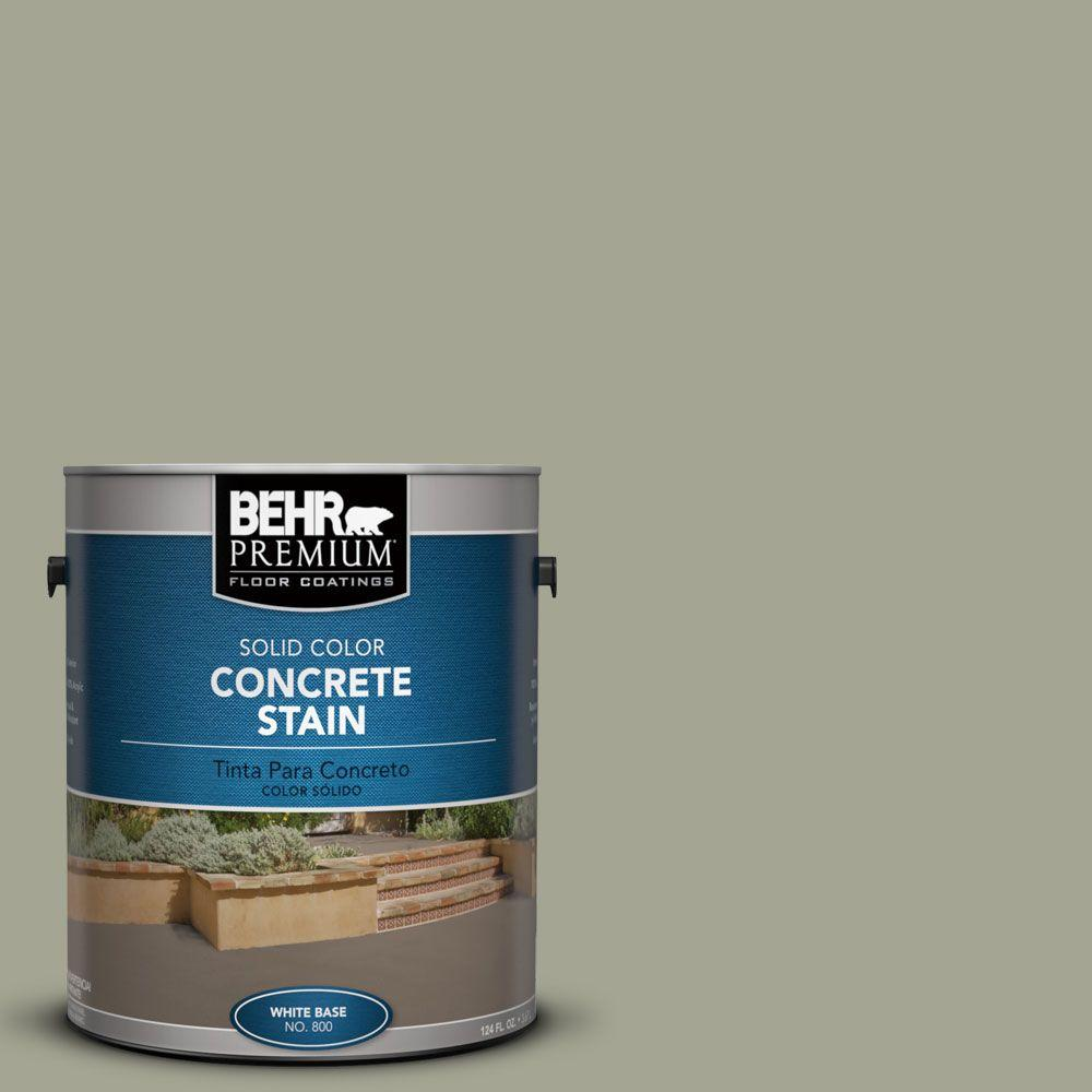 1 gal. #PFC-38 Elemental Green Solid Color Interior/Exterior Concrete Stain
