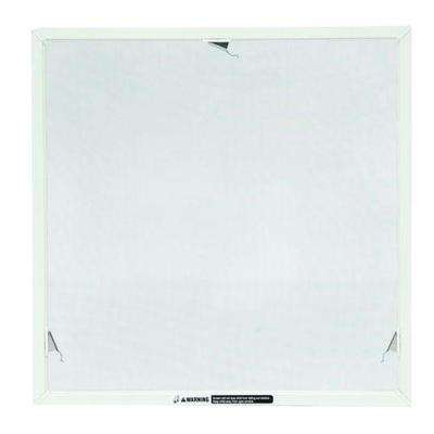 TruScene 20-5/32 in. x 20-5/32 in. White Aluminum Awning Insect Screen