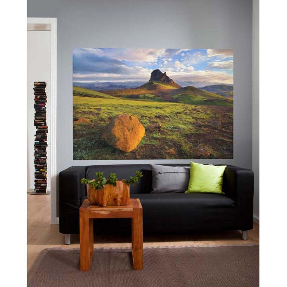 National Geographic 50 in. x 72 in. Iceland Wall Mural
