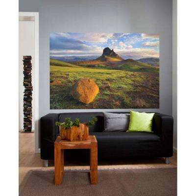 50 in. x 72 in. Iceland Wall Mural