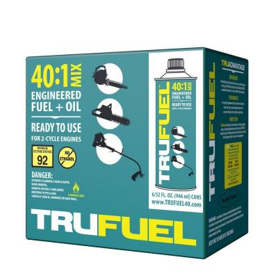 TruFuel 40:1 Pre Oil Mix (6-Pack)