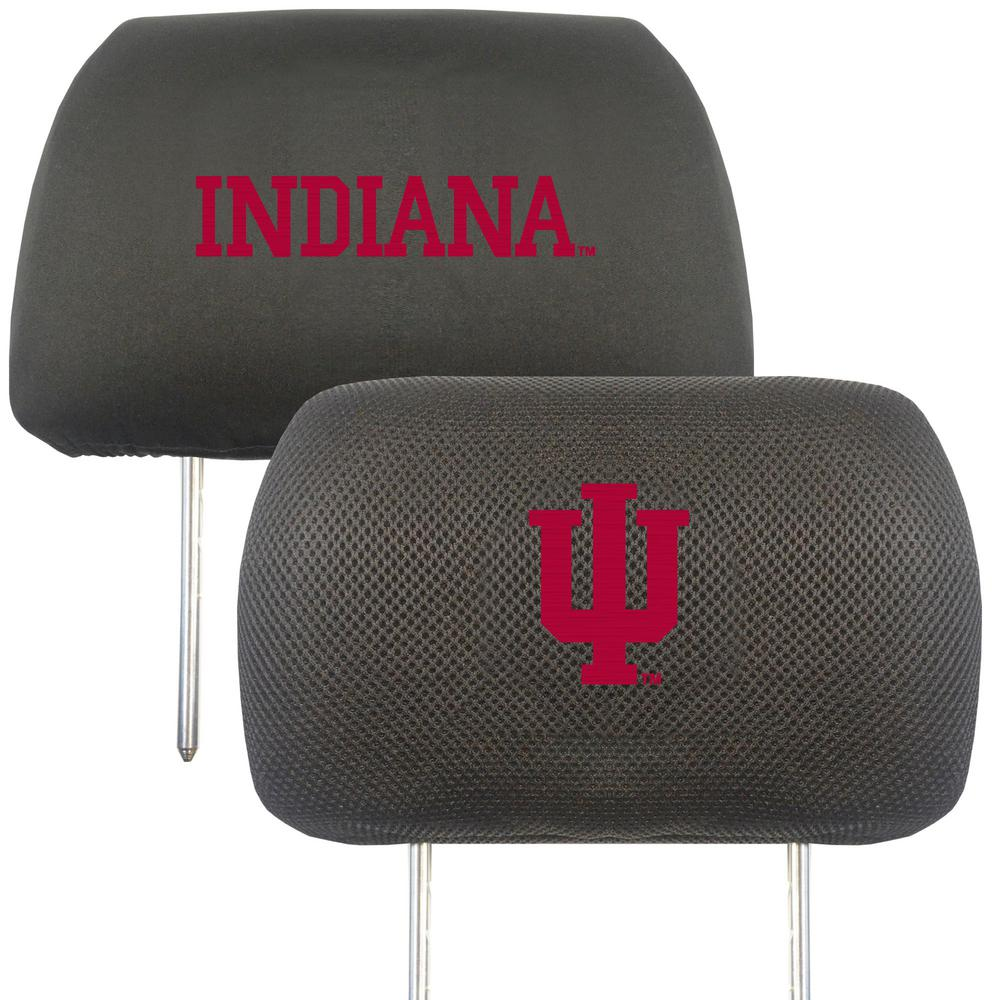 Ncaa Indiana University Embroidered Head Rest Covers 2 Pack