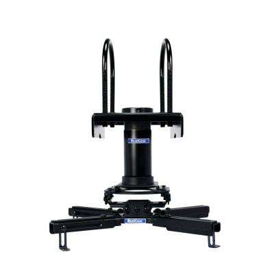 Pro-AV Projector Mount Kit with a Truss Ceiling Adapter, 3 in. 1.5 in., Black