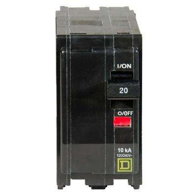 QO 20 Amp 2-Pole Circuit Breaker