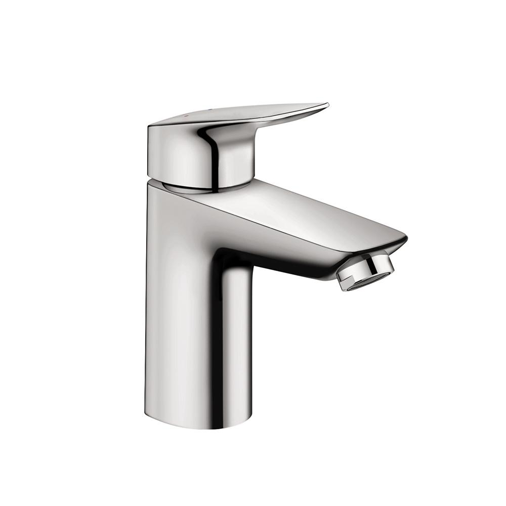 Hansgrohe Logis 100 Single Hole Single-Handle Bathroom Faucet in ...