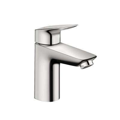 Logis 100 Single Hole Single-Handle Bathroom Faucet in Chrome