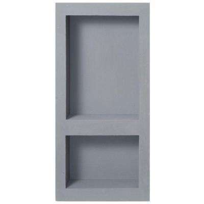 Fin Pan PreFormed 10.75 in. W x 23.75 in. H x 4 in. D Narrow Double Niche