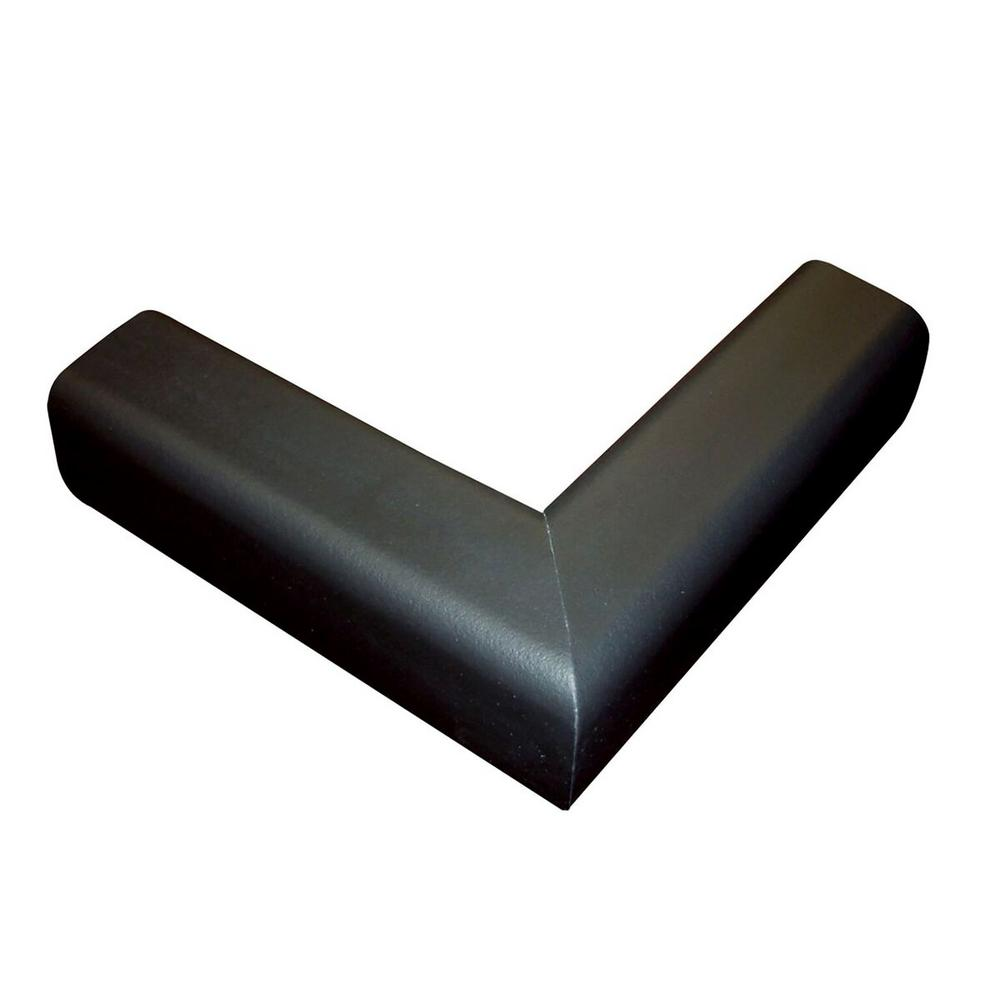 Fireplace Cushion Hearth Pads, Black