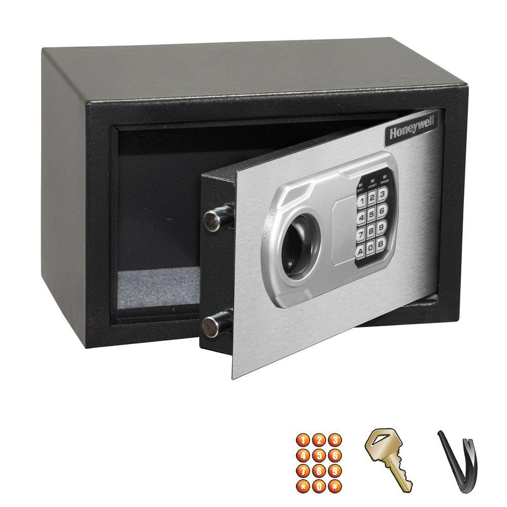 Honeywell 0.31 cu. ft. Small Steel Security Safe with Digital Lock