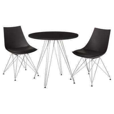 Black Finish Eiffel Dinette Table