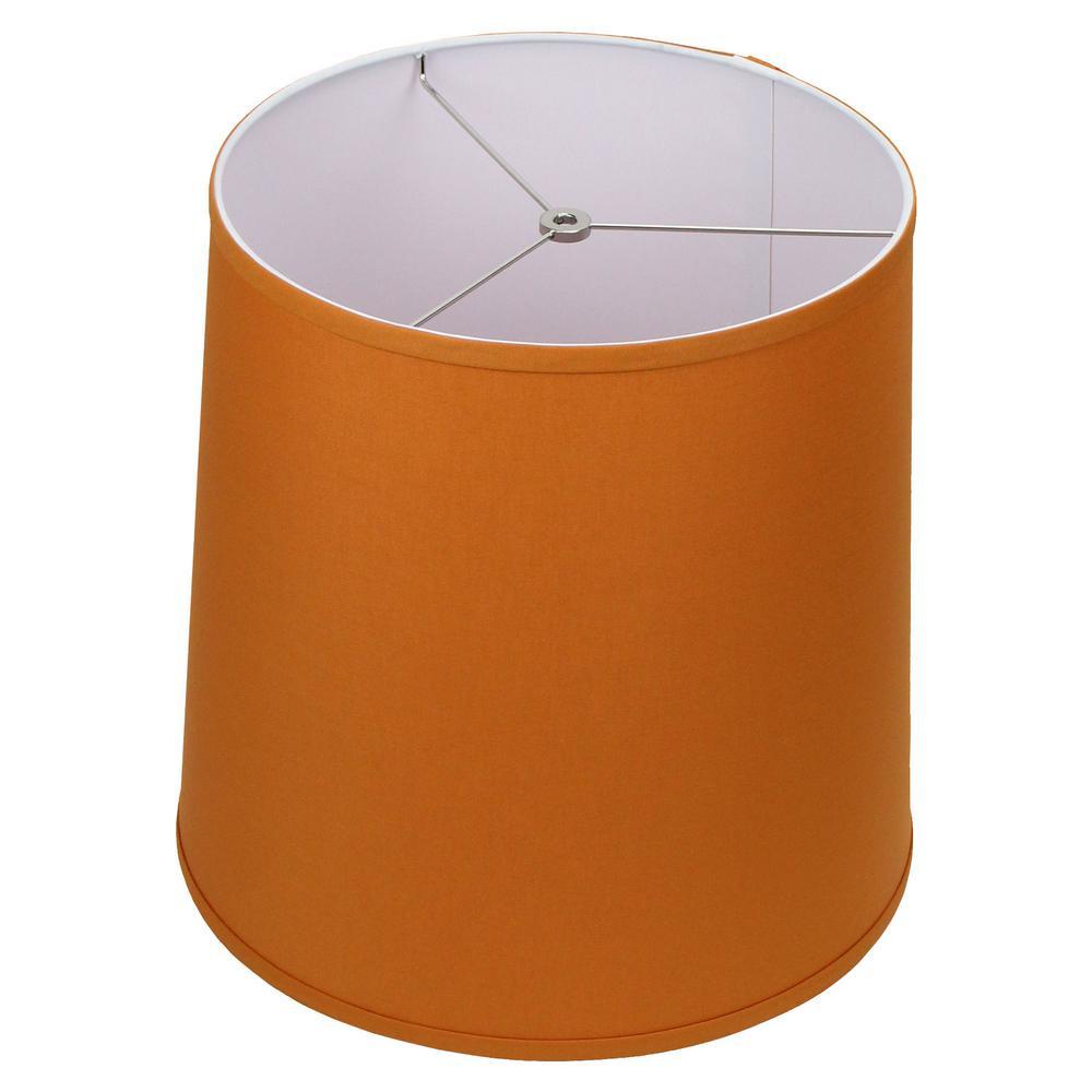 Fenchel Shades 13 in. Top Diameter x 15 in. Bottom Diameter x 15 in. Slant,  Empire Lamp Shade - Linen Cedar