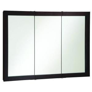 Design House Ventura 48 inch W x 30 inch H x 6 inch D Framed Tri-View Surface-Mount... by Design House