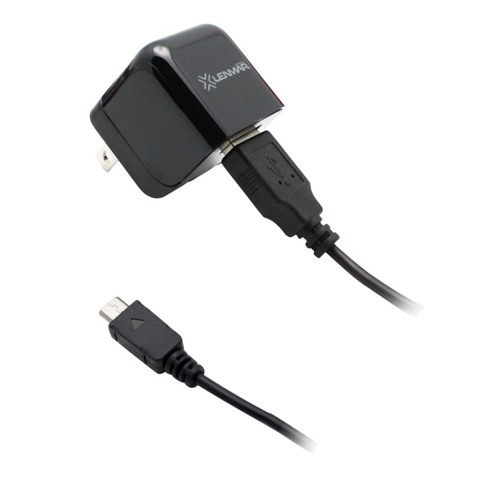 Lenmar AC Wall Charger with Micro USB Cable for HTC Phones