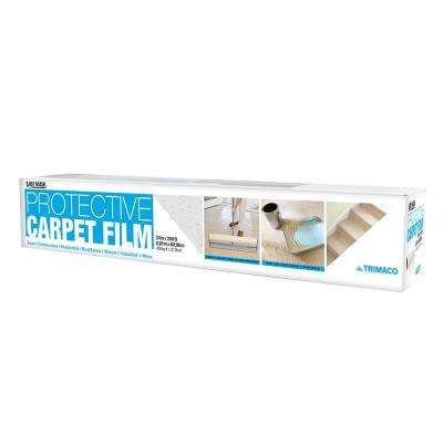 24 in. x 200 ft. 2 mil Protective Film for Carpets