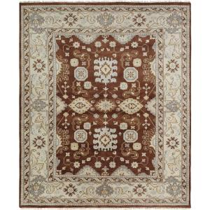 KALATY Umbria Brown/Camel 8 ft. x 10 ft. Area Rug by KALATY