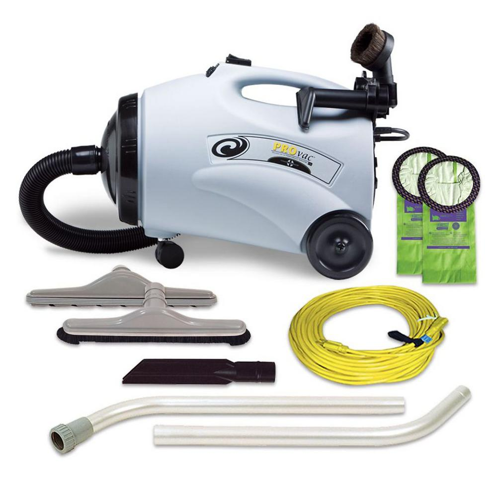 ProVac CN 10 qt. Canister Vac with Restaurant Tool Kit
