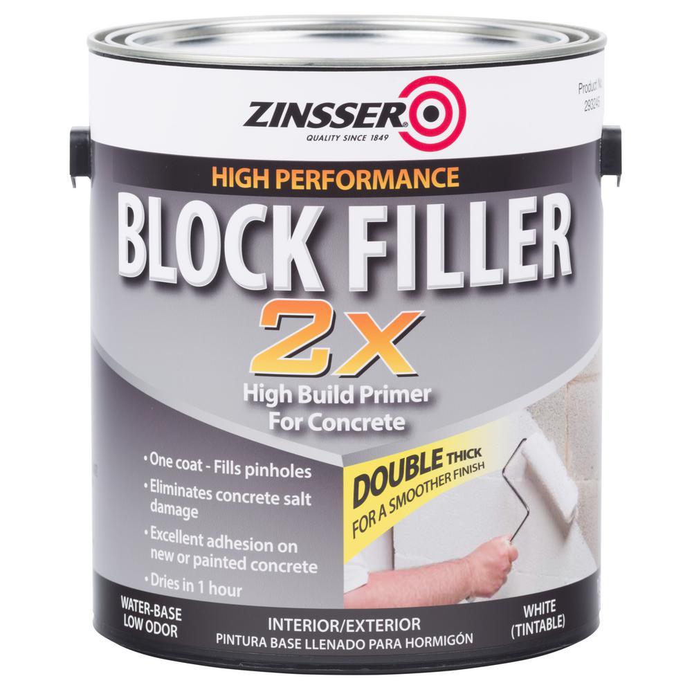 Zinsser 1 gal. Block Filler 2X Primer (2-Pack)