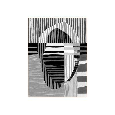 "41.25 in. x 31.25 in. ""Visions I"" by Bobby Berk Printed Framed Wall Art"