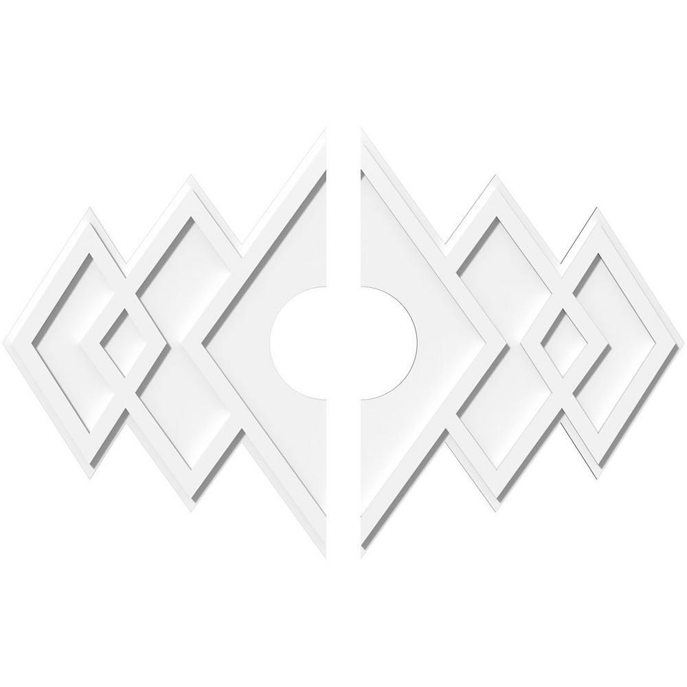 Zoes Kitchen Logo: Ekena Millwork 40 In. W X 26-5/8 In. H X 7 In. ID X 1 In