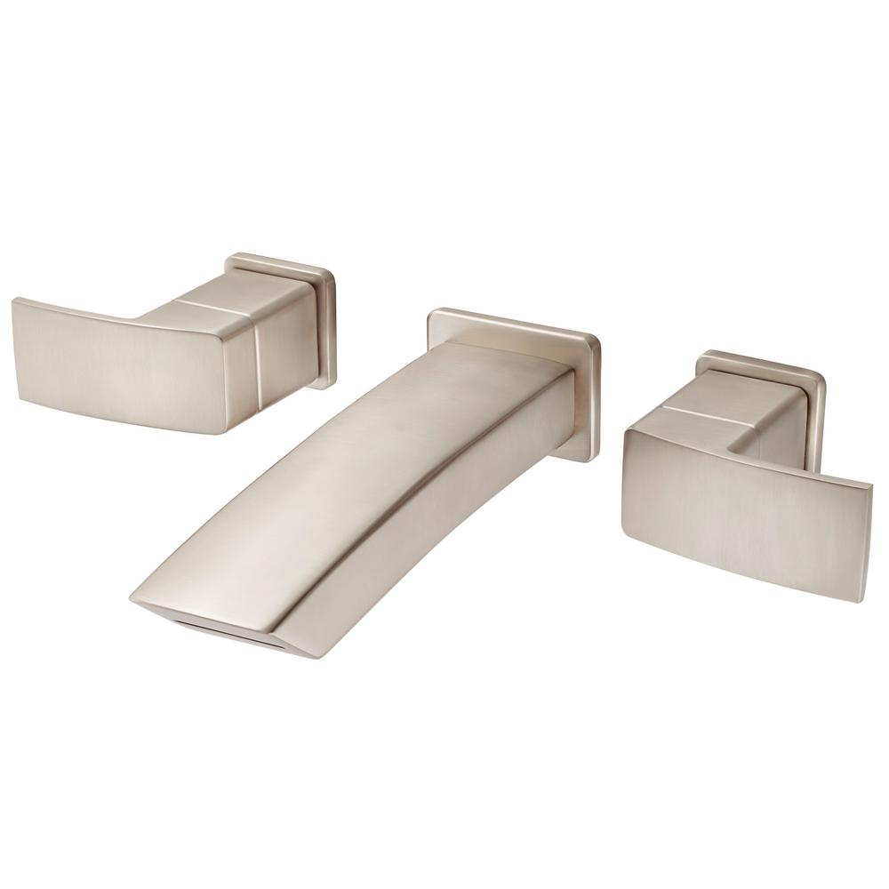 Pfister Kenzo 2 Handle Wall Mount Bathroom Faucet Trim Kit