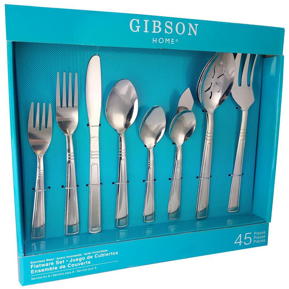 Astonshire 45-Piece Flatware Set