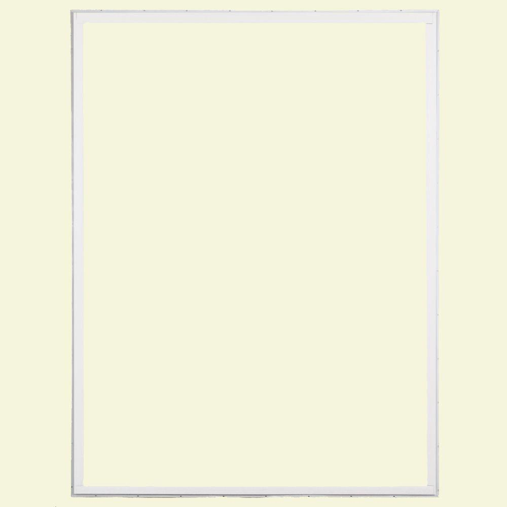 60 in. x 80 in. 50 Series White Vinyl Sliding Patio