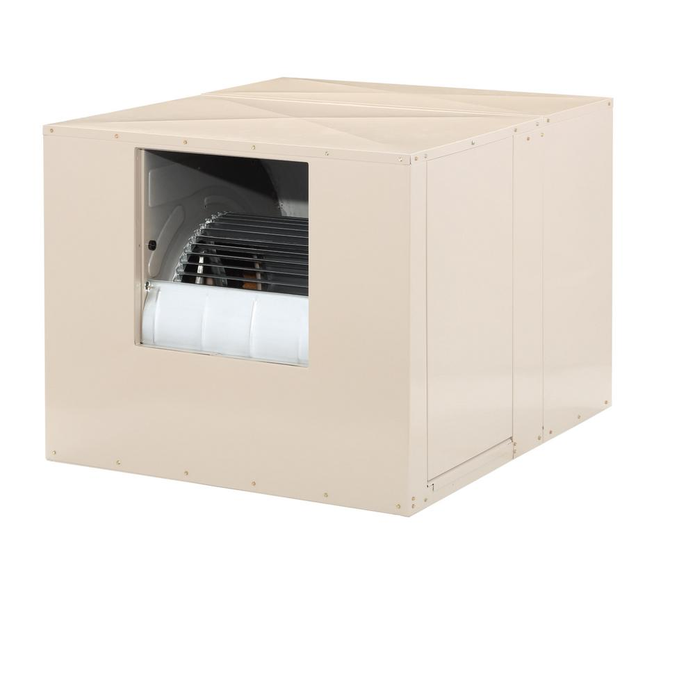 MasterCool 7000 CFM Side-Draft Wall/Roof 8 in  Media Evaporative Cooler for  2300 sq  ft  (Motor Not Included)