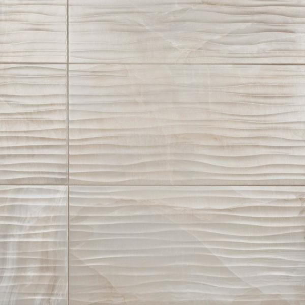 Deco Dubai Pearl 12-1/2 in. x 24-1/2 in. Porcelain Wall Tile (10.96 sq. ft. / case)